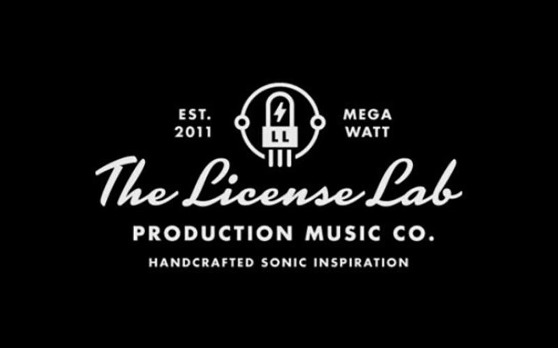 License Lab klein schwarz weiß