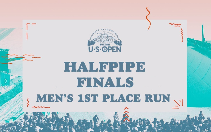 Burton US Open 2018 - Men's Halfpipe Finals cuttet