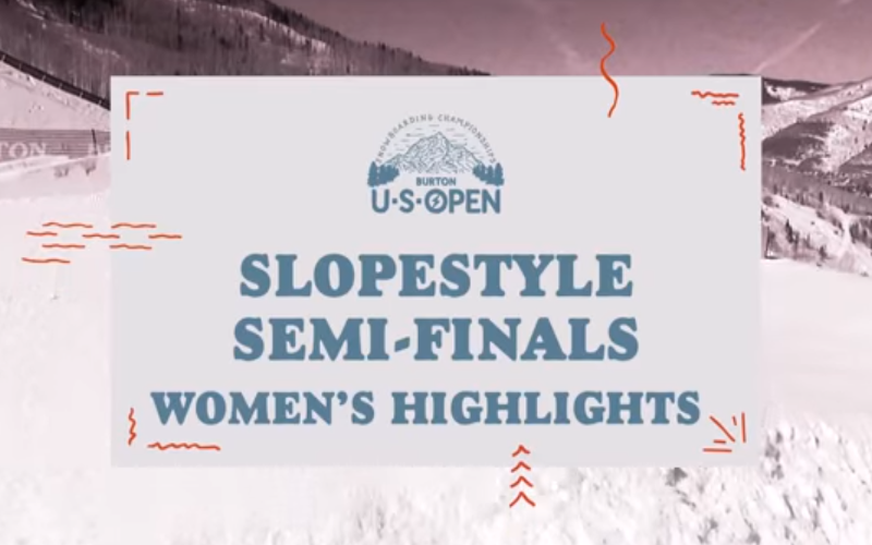 Burton US Open - Womens Slopestyle Highlights klein